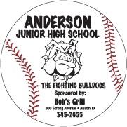 Custom Baseball Schedule Magnet