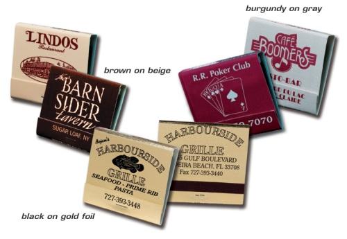 promotional matchbooks cheap