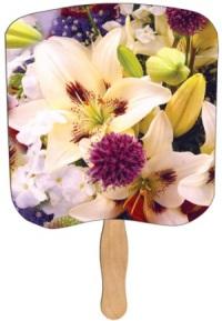 Lilly Bouquet church fan