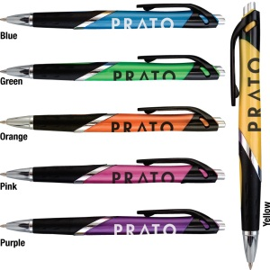 Custom Imprinted Personalized Prato Click Pen