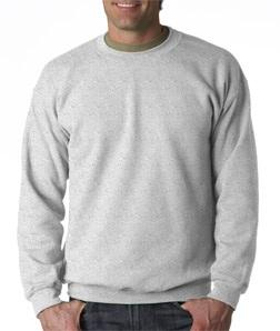Crewneck Sweatshirt in Ash Grey