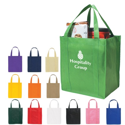 Personalized Non-Woven Shopper Tote Bag