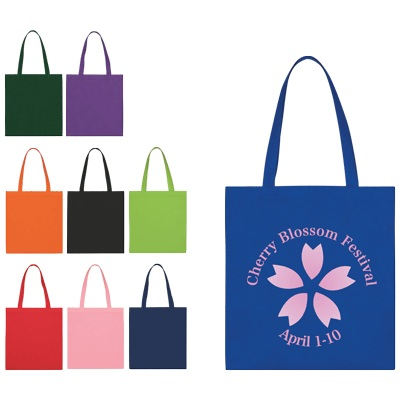 Personalized Non-Woven Economy Tote Bag