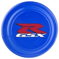 Royal Blue 9-inch Frisbee with 2-color Personalized Imprint