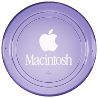 Translucent Purple 9-inch Frisbee