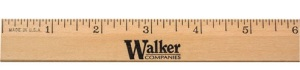 Wooden Rulers and Yardsticks - Personalized Wood Ruler