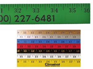 Customized Enamel Finish Customized Yardstick