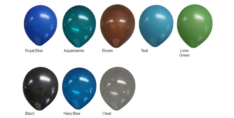 11-inch Decorator Latex Balloons