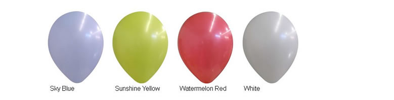 14-inch Decorator Latex Balloons