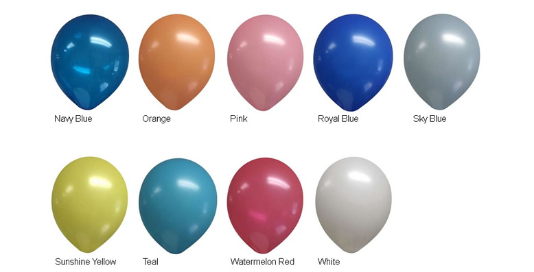 9-inch Decorator Latex Balloons