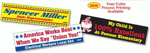 Bumperstickers and Decals