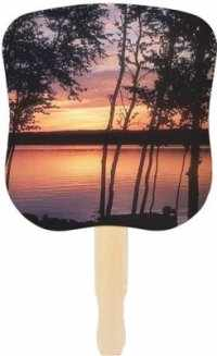 Stock Design Church Fans - Sunset Design
