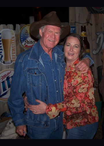 Billy Joe Shaver with Tina Canary