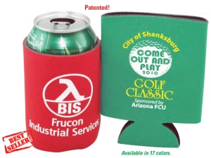 Folding Foam Can Coolers, Koozies