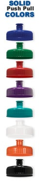 Personalized Cycling Insulated Bottle Lid Colors
