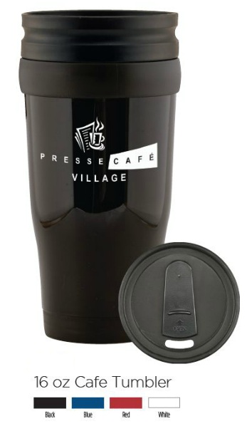 Plastic Cafe Travel Tumbler