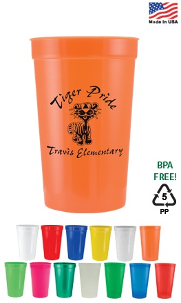 Personalized 16 oz Custom Printed Stadium Cups
