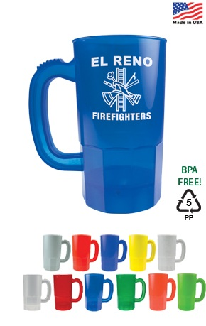 14 oz Personalized Plastic Steins