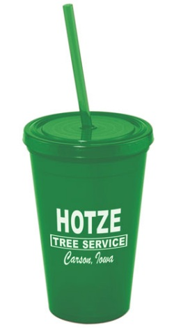 US Acrylic Tumbler in Green