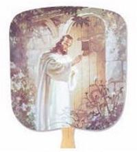 Christ Knocking Church Fan