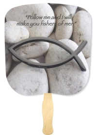 Fishers of Men Inspirational Hand Fan