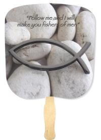 Fishers of Men Inspirational Hand Fan