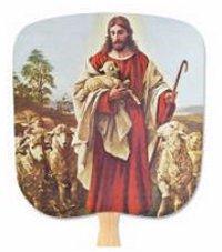 The Good Shepherd Inspirational Hand Fan