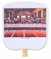 The Last Supper Church Fan