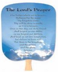 Lord's Prayer Religious Fans