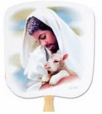 The Loving Shepherd Hand Fan