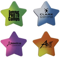 Star Die Cut Mood Eraser