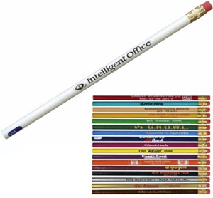 Personalized Round Pioneer Promotional Pencils