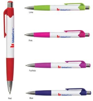 Carnival Custom Printed Click Pens