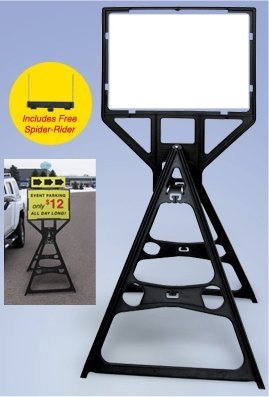 Tall Plastic Sign Frames