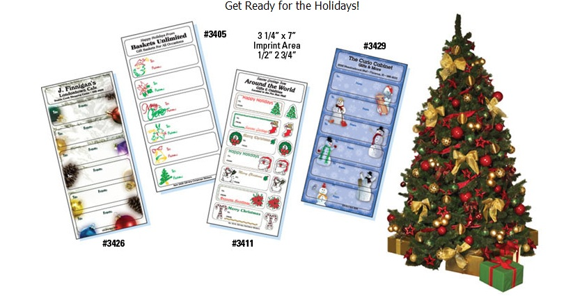 Christmas Gift Tags and Sticker Sheets