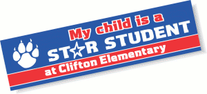 School Bumper Stickers and Decals