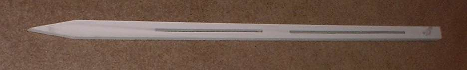Wooden real estate sign stake
