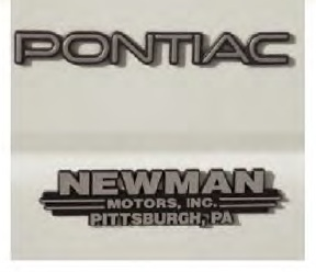 Sample of Auto Nameplate