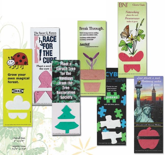 Plant-A-Shape Bookmarks