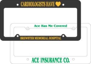 License Plate Frames - Promotional Auto Accessories