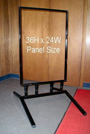 Flex Frame for Larger Signs