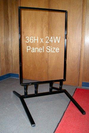 Flex Frame for Larger Signs
