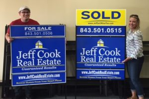 Real Estate Aluminum Signs