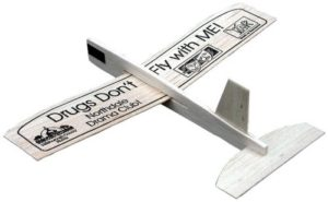 Promotional Airplanes - 8-inch Balsa Glider