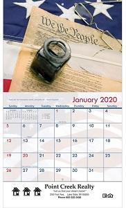 America 2020 Wall Calendars