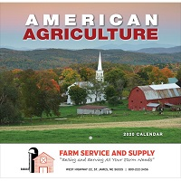 American Agriculture 2020 Wall Calendar Cover