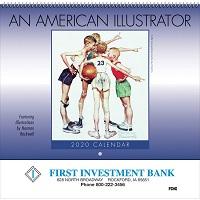 American Illustrator 2020 Wall Calendar Cover