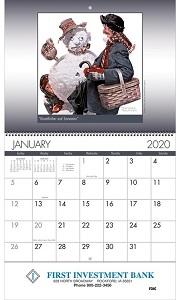 American Illustrator 2020 Wall Calendar