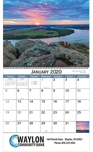 American Scenic 2020 Calendar
