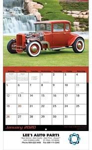 Hot Rods 2020 Calendar